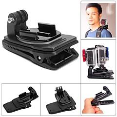 fat cat m-dr double-cam rec-installer le support clip clip de sac à dos pour GoPro Hero 4 / 3+ / 3/2/1 - noir