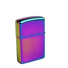 1pcs rustfritt stål fargerik parafin lighter