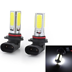 Marsing High Power 9006 20W 6500K 1500lm 4-COB LED Cool White Car Head Light / Foglight (12~24V / 2 PCS)