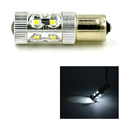 JMT-341 1156 / BA15S 60W 650lm 12LED Cool White Car Steering / Backup / Brake Light - (DC 10~24V)
