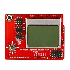 Keyes lcd 4884 rocker carte d'extension - rouge + noir