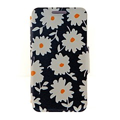Kinston Beautiful Daisies Pattern PU Leather Full Body Case with Stand for iPhone 4/4S