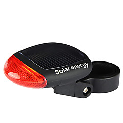 IFire Solar Charger 3-Mode Bicycle Tail Lashlight(Black)