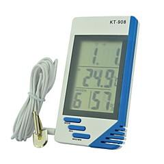 kt908多機能電子屋内と屋外の温度表示温湿度テーブル