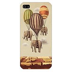 Elephant Balloon Pattern Back Case for iPhone5/5S