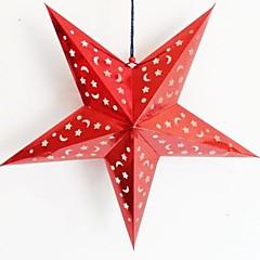 papier laser tridimensionnel noël étoiles