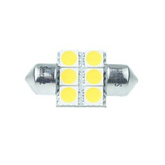 Feston Automatique Blanc chaud 3W LED SMD LED Haute Performance 3000-3500Lampe de lecture Eclairage plaque d'immatriculation Feux de
