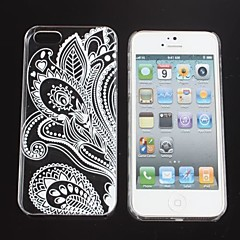 Folk Style  Painting  Hard Back Cover Case for iPhone 5/5S