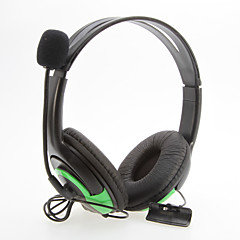 Wired grandes Headphones Preto para XBOX360
