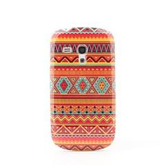 oranssi raita kova takaisin suojakotelo Samsung Galaxy S3 mini i8190