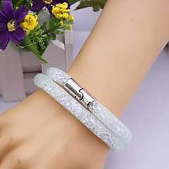 Fashion Multilayer   Drill Magnet  Handmade Bracelet Christmas Gifts
