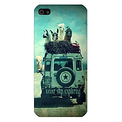 Never Stop Exploring Pattern Back Case for iPhone5/5S