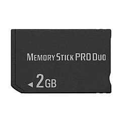 2gb ms Memory Stick Pro Duo-kort lagring for psp 1000/2000/3000 spill