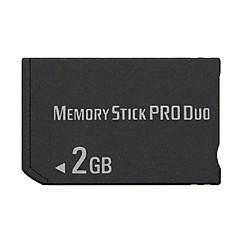 זיכרון MS 2GB מקל אחסון Pro Duo כרטיס למשחק 1000/2000/3000 PSP