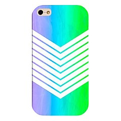 Gradual Change Color Navy Pattern Back Case For Iphone 4/4s