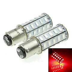 1157 20W 36X5730SMD 800-1200LM Red Light Led Bulb for Car Turn Lamp(A pair/AC12-16V)