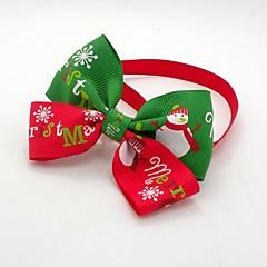 Todas las Estaciones - Rojo - Boda / Cosplay / Navidad - Algodón - Corbata - Perros / Gatos