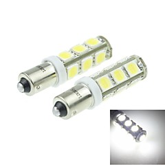 BA9S (T4W 53 57 W6W) 7W 13x5054SMD 480-560LM 6500-7500K White Light for Car Light Parking Lamp(DC12-16V)
