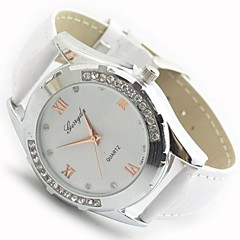 Women's Round Dial PU Band Quartz Fashion Watch (Assorted Colors) Cool Watches Unique Watches