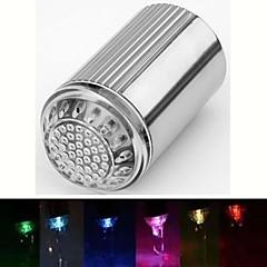rc-d2 corriente de agua con estilo colorido luminoso luz del grifo de luz LED (de plástico, acabado en cromo)