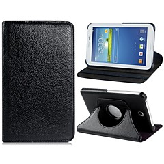 "360-degree Rotation Faux Leather Flip Case for Samsung Galaxy Tab 4 7.0"" T230(Assorted Colors)"