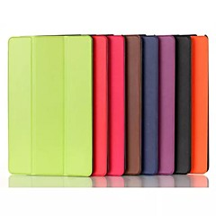 8 Inch Triple Folding Pattern PU Leather Case for Sony Xperia Z3 Tablet Compact
