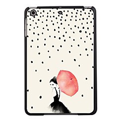 "Elonbo Umbrellas Girl 7.9"" Protective Plastic Hard Back Case for iPad mini 1/2/3"