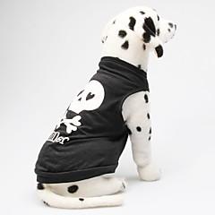 犬用品 - 夏 コットン - Tシャツ - ブラック - XS / M / S / L