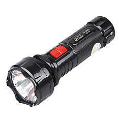JiaGe YD-8843 Rechargeable 2-Mode LED Flashlight Night Two-light(240LM,Black)