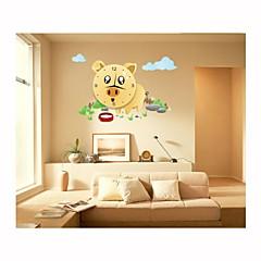 DIY Cartoon Cute Pig Wall Clock