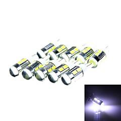t10 3w 144lm10 x SMD 5630 LED bianco luce di segnale di w / lens - (CC 12V / 10 pz)