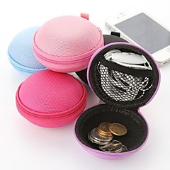 "Travel Wallet / Travel Cable TieForTravel Storage Fabric 3.15""*3.15""*1.18""(8cm*8cm*3cm)"