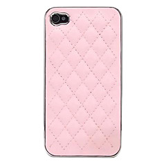 DSD® Luxury Diamond Check High Quality PU Leather Hard Case for iPhone 5/5S (Assorted Colors)