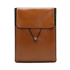 17 pouces facteur étui de cuir enveloppe vintage corps plein sac manchon pour ordinateur portable (couleurs assorties)