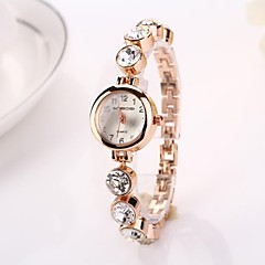 Women's   Round Big Diamond Dial   Drops Quartz Wristwatches  C&d214
