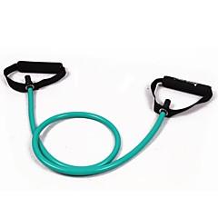 Green Tube Elastic String Sliming Fitness Yoga Resistance Bands Fitness