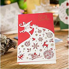 coupe de papier cartes de Noël