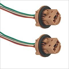 7443 socket bil pærefatning adapter - 2stk