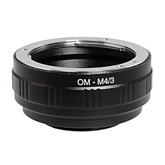 POPLAR OM-M4/3 Olympus Lens to Panasonic/Olympus M4/3 Camera Adapter Ring (Black)