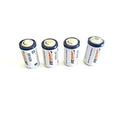 Baterias descartáveis li-ion de 1200mAh 3.6v er14250 (4 pcs)