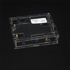 beskyttende akryl tilfelle for arduino uno r3 utvikling bord - gjennomsiktig