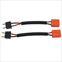 masculino h7 al cable de extensión sockets arneses femenina un coche faro / foglight (2pcs)