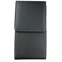 Open Up and Down Litchi Line Purse Pattern Phone Holster Full Body Case for iPhone 4/4S