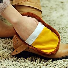 multifunktions mjuk imitation ull renare sko (slumpmässig färg)