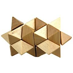 houten gemini ontgrendelen speelgoed (1st)