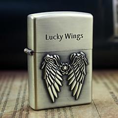 jord guld heldige vinger mønster metal relief olie lighter