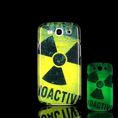 Radiation Pattern Glow in the Dark Hard Case for Samsung Galaxy S3 I9300