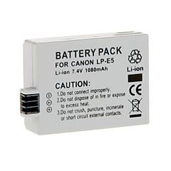 Li-ion rechargeable LP-E5 pour Canon EOS 500D 450D 1000D