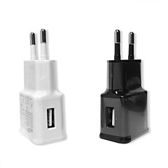 1A Travel Adapter Charger EU Plug for SamsungN7100  Galaxy S2,3,Note2,3,4(Assorted Colors)