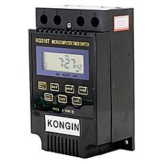 kg316t 2 tuuman LCD-mikrotietokone kellokytkin (ac / dc 12v)